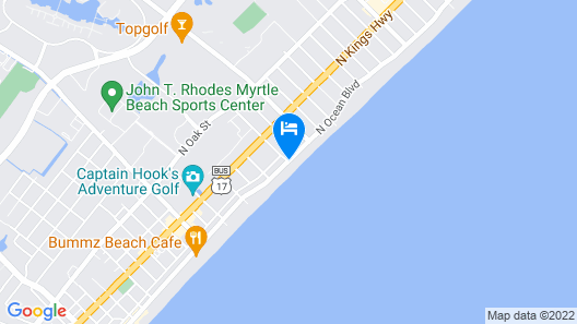 The Strand - A Boutique Resort Map