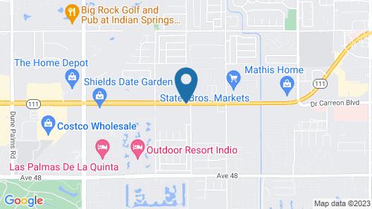 Palm Shadow Inn Map