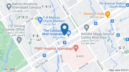 Livin Hub Guest House Map