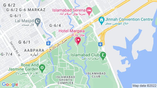Hotel Margala Map