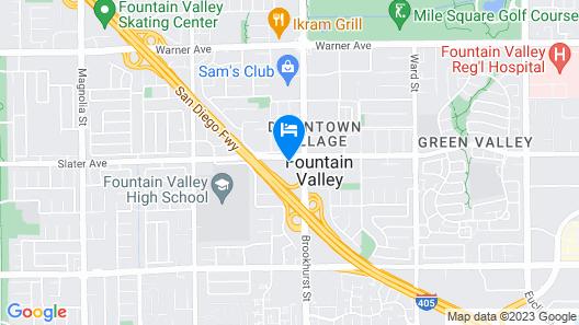 Sonesta Select Huntington Beach Map