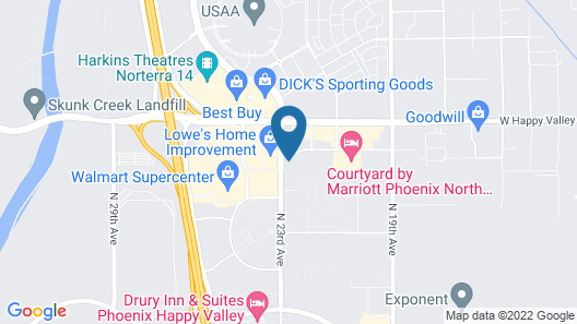 Holiday Inn Express & Suites Phoenix North - Happy Valley, an IHG Hotel Map