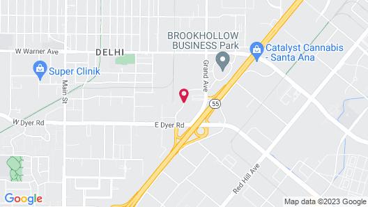 Best Western Plus Orange County Airport North Map