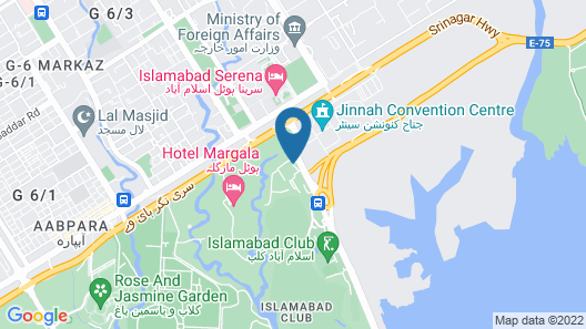 Grand Regency Hotel Map