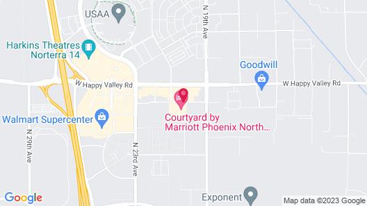 Courtyard by Marriott Phoenix North/Happy Valley Map