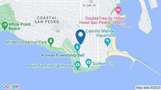 HI Los Angeles South Bay Map