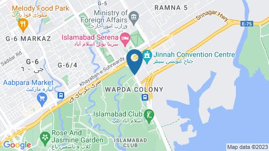 Dreamland Hotel Map