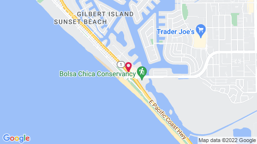 Travelodge by Wyndham Ocean Front Map