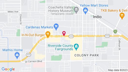 Royal Plaza Inn Map