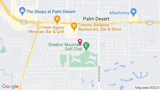 Shadow Mountain Resort Map