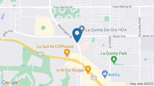 Homewood Suites by Hilton La Quinta CA Map