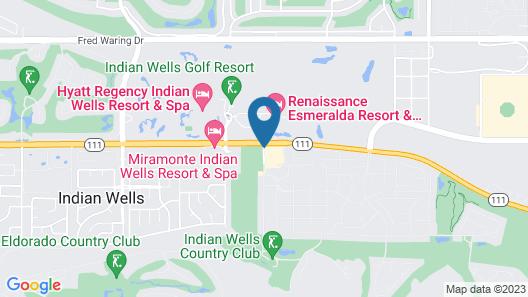 Indian Wells Resort Hotel Map