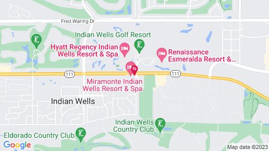 Miramonte Indian Wells Resort & Spa Map