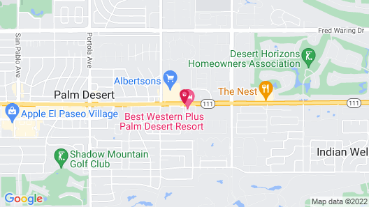 Embassy Suites by Hilton Palm Desert Map