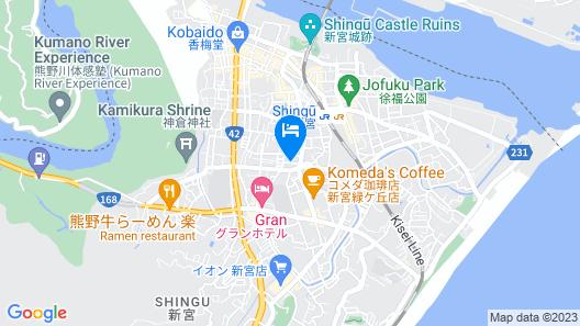 Sunshine Hotel Map