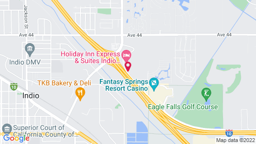 Holiday Inn Express Hotel & Suites Indio, an IHG Hotel Map