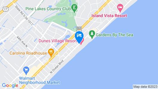 Dunes Village Resort Map