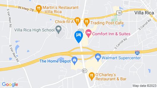 Days Inn by Wyndham Villa Rica Map