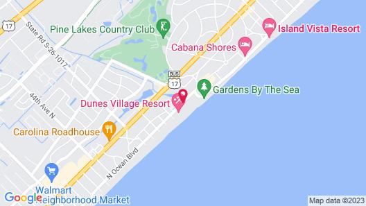 Beach Colony Resort Map