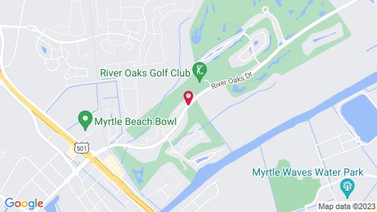 River Oaks Resort Map