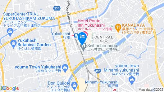 APA Hotel Fukuoka-Yukuhashi-Ekimae Map