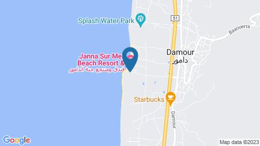 Janna Sur Mer Map