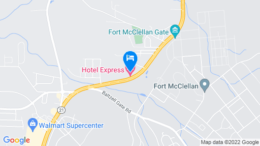 Hotel Express Map