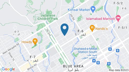 Hotel One Kohsar Map
