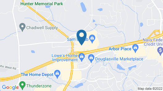 Holiday Inn Express Atlanta W/ I-20/ Douglasville, an IHG Hotel Map