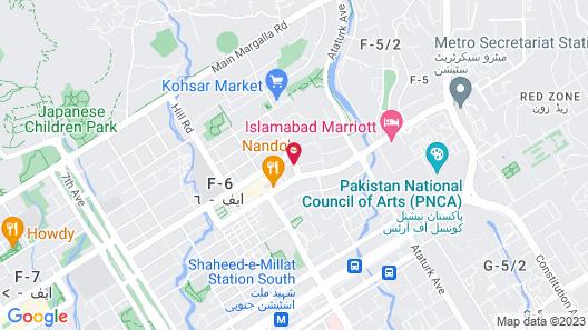 Serai Boutique Hotel Map