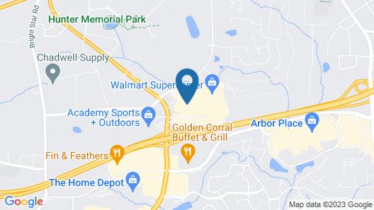 La Quinta Inn & Suites by Wyndham Atlanta Douglasville Map