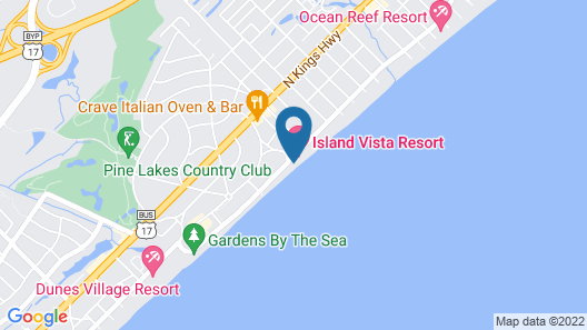 Ocean Forest Colony by Capital Vacations Map