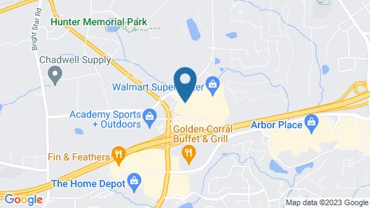 Sleep Inn Douglasville Map