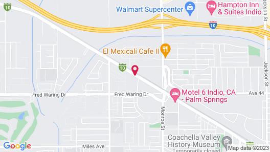 Best Western Date Tree Hotel Map