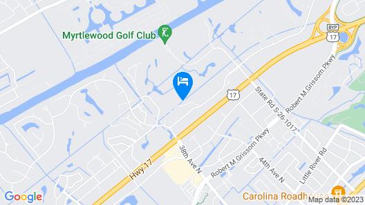Beautiful Golf Front 2 Bedroom Condo In Myrtlewood Villas Map