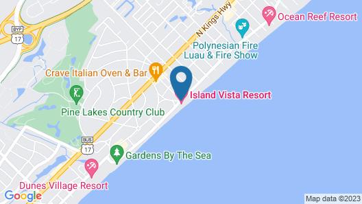Island Vista Resort Map