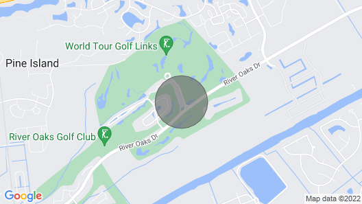 Golf - Beach - Area Attractions Map