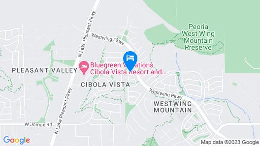 Pinnacle Vista 5 BR by Casago Map