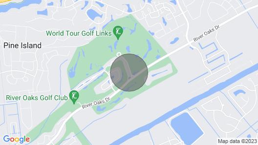 Chic Myrtle Beach Condo in World Tour Golf Resort! Map