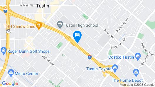 Key Inn & Suites Map