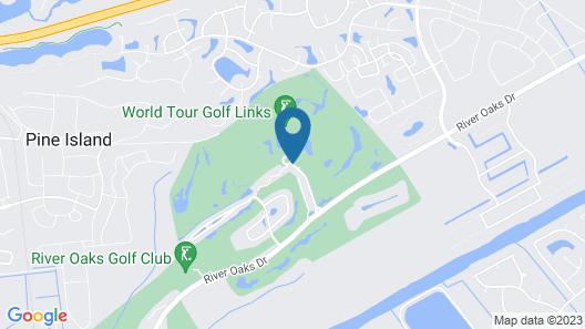 World Tour Golf Resort Map