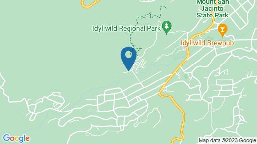 Quiet Creek Inn Map