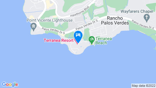 Terranea - L.A.'s Oceanfront Resort Map