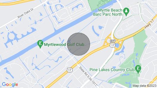 Charming 3 Bedroom Condo in Myrtlewood Villas Map