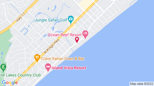 The Caravelle Resort Map