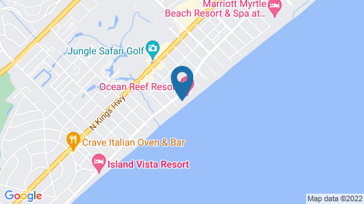 Schooner Beach and Racquet Club by Capital Vacations Map