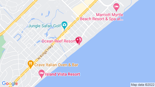 Ocean Reef Resort Map