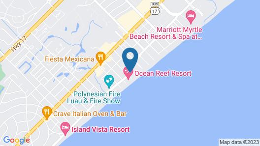 Grande Cayman Resort Map