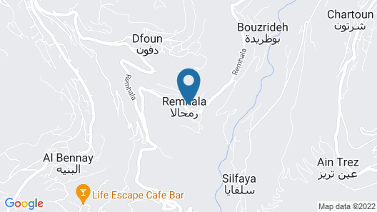 Remhala Guest House Map
