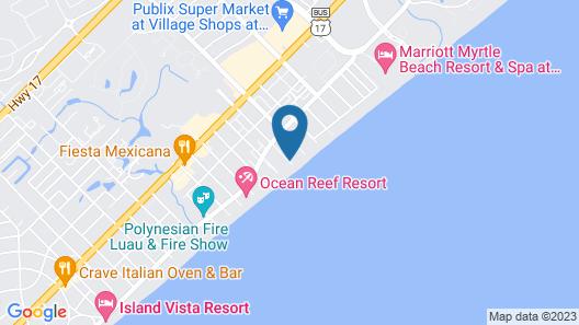 North Shore Oceanfront Resort Hotel Map